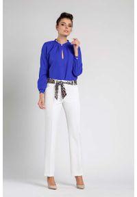 Spodnie z wysokim stanem Nommo eleganckie