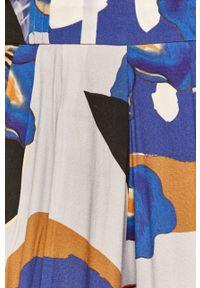 Wielokolorowe spodnie materiałowe Desigual