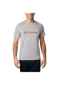 Szara koszulka sportowa columbia