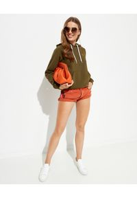Ralph Lauren - RALPH LAUREN - Bluza z kapturem w kolorze khaki. Okazja: na co dzień. Typ kołnierza: kaptur. Kolor: zielony. Materiał: materiał. Długość rękawa: długi rękaw. Długość: długie. Wzór: aplikacja. Styl: casual