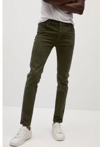Zielone jeansy Mango Man