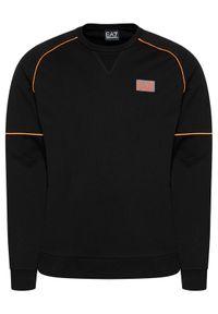 EA7 Emporio Armani Bluza 3KPM21 PJ05Z 1200 Czarny Regular Fit. Kolor: czarny