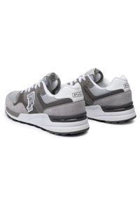 Szare sneakersy Polo Ralph Lauren z cholewką, na co dzień