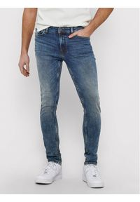 Only & Sons - ONLY & SONS Jeansy Loom 22018609 Niebieski Slim Fit. Kolor: niebieski