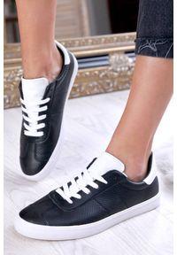 Czarne buty sportowe IVET na co dzień