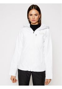 The North Face Kurtka narciarska Descendit NF0A4R1RFN41 Biały Slim Fit. Kolor: biały. Sport: narciarstwo