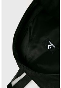 Czarny plecak Converse z nadrukiem