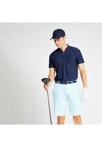 INESIS - Koszulka polo do golfa WW900 męska. Typ kołnierza: golf, polo. Materiał: poliamid, materiał, elastan