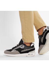 North Sails - Sneakersy NORTH SAILS - RW/03 Frost 040 Black/Gray. Okazja: na co dzień. Kolor: czarny. Materiał: materiał, skóra ekologiczna, zamsz. Szerokość cholewki: normalna. Styl: casual