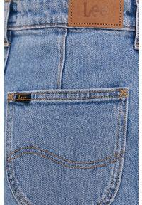 Niebieskie jeansy bootcut Lee