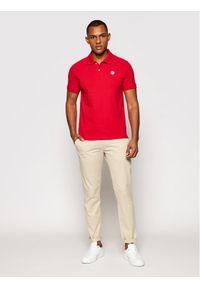 North Sails Polo W/Logo 692240 0230 Czerwony Regular Fit. Typ kołnierza: polo. Kolor: czerwony