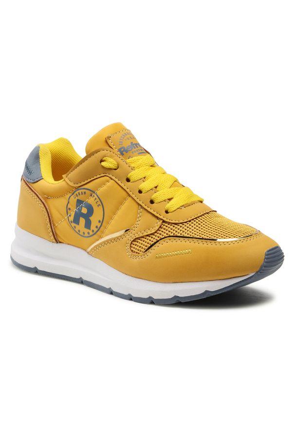 Refresh - Sneakersy REFRESH - 72894 Yellow. Okazja: na co dzień. Kolor: żółty. Materiał: materiał. Szerokość cholewki: normalna. Sezon: lato. Styl: casual