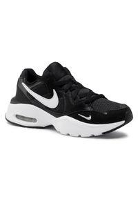 Czarne półbuty Nike na co dzień, casualowe, z cholewką