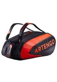ARTENGO - Torba tenisowa 960 L na 12 rakiet. Kolor: pomarańczowy, wielokolorowy, czerwony. Materiał: poliester, materiał. Sport: tenis