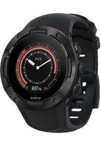 Czarny zegarek SUUNTO sportowy