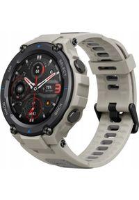 AMAZFIT - Smartwatch Amazfit T-Rex Pro Desert Grey Beżowy (W2013OV3N). Rodzaj zegarka: smartwatch. Kolor: beżowy