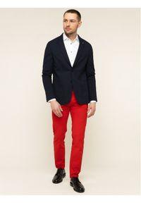 Czerwone spodnie Tommy Hilfiger Tailored