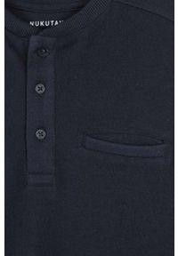 Niebieska koszulka z długim rękawem Mayoral krótka, na co dzień, casualowa