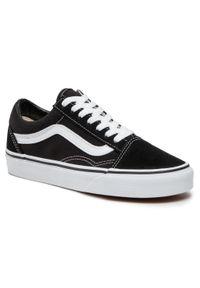 Vans - Tenisówki VANS - Old Skool VN000D3HY28 Black/White. Okazja: na co dzień. Kolor: czarny. Materiał: materiał, skóra. Szerokość cholewki: normalna. Model: Vans Old Skool