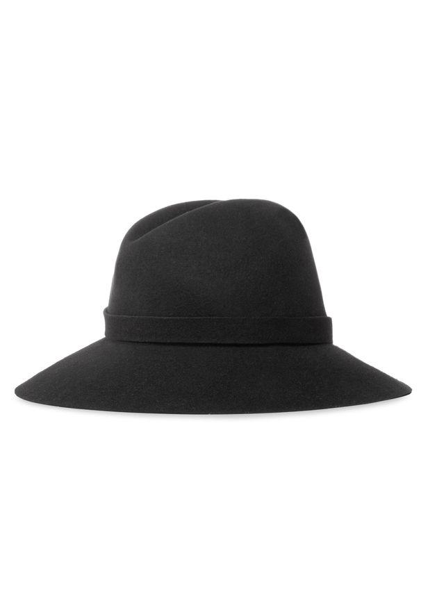 Czarny kapelusz Patrizia Pepe
