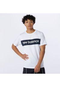 T-shirt New Balance casualowy, krótki