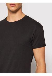 Tigha T-Shirt Zander 105815 Czarny Regular Fit. Kolor: czarny