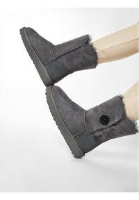 Szare buty zimowe Ugg