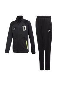 Dresy Adidas długie, klasyczne, z aplikacjami