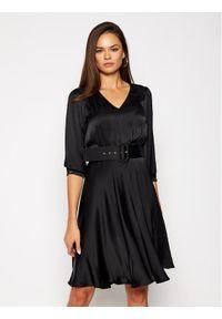 Czarna sukienka Pennyblack casualowa, prosta, na co dzień
