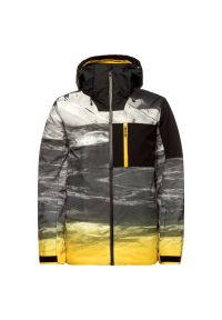 Szara kurtka narciarska Quiksilver