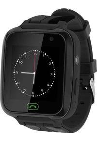 Krüger&Matz - Smartwatch Kruger&Matz SmartKid Czarny (KM0469BL). Rodzaj zegarka: smartwatch. Kolor: czarny