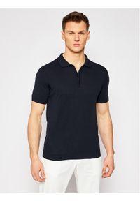Niebieska koszulka polo Oscar Jacobson polo