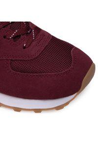 Czerwone sneakersy New Balance z cholewką, na co dzień, New Balance 574