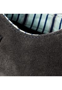 CATerpillar - Półbuty CATERPILLAR - Status P714378 Oxford/Dark Indigo/Indigo Fonce. Okazja: na co dzień. Kolor: szary. Materiał: skóra, zamsz. Szerokość cholewki: normalna. Styl: klasyczny, elegancki, casual