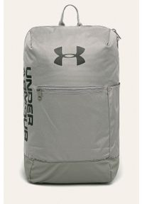 Zielony plecak Under Armour z nadrukiem