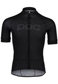 POC Koszulka rowerowa Essential Road Logo Black