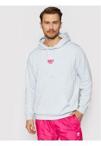 Adidas - adidas Bluza 3D Tf Om GN3590 Niebieski Regular Fit. Kolor: niebieski