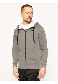 Nike Bluza Dry Hoodie Fz Fleece 860465 Szary Standard Fit. Kolor: szary