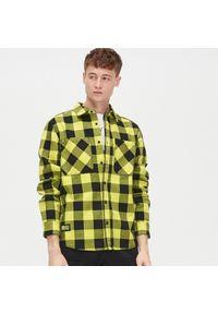 Żółta koszula Cropp