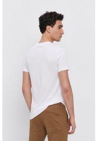 Karl Lagerfeld - T-shirt bawełniany (2-pack). Okazja: na co dzień. Kolor: biały. Materiał: bawełna. Wzór: gładki. Styl: casual
