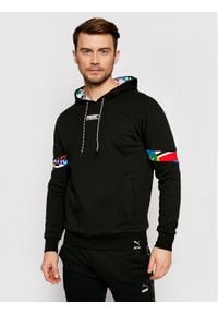 Puma Bluza International 531063 Czarny Regular Fit. Kolor: czarny