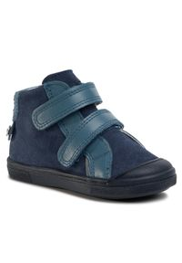 Niebieskie buty zimowe Bartek