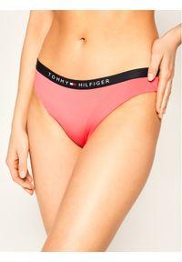 Różowe dół bikini TOMMY HILFIGER