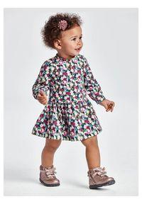 Mayoral Sukienka codzienna 2928 Kolorowy Regular Fit. Okazja: na co dzień. Wzór: kolorowy. Typ sukienki: proste. Styl: casual