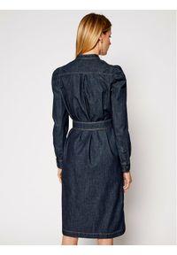 Niebieska sukienka Weekend Max Mara