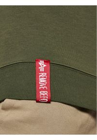 Alpha Industries Bluza Basic Sweater 178302 Zielony Regular Fit. Kolor: zielony