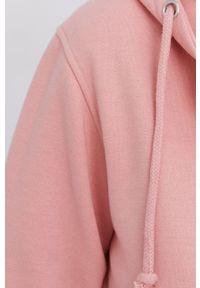 Answear Lab - Bluza. Okazja: na co dzień. Kolor: różowy. Materiał: dzianina. Wzór: gładki. Styl: wakacyjny