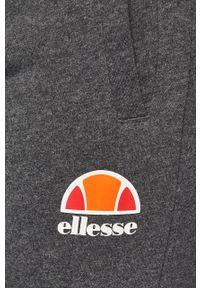 Szare spodnie dresowe Ellesse melanż