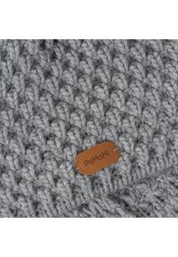 Szara czapka zimowa PaMaMi #3