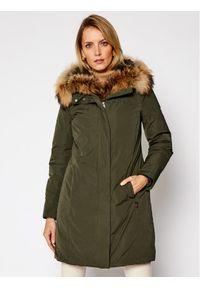 Woolrich Parka Luxury Boulder CFWWOU0324FRUT0573 Zielony Regular Fit. Kolor: zielony